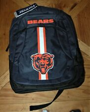 Chicago Bears backpack NEW with tags Adult one-size NFL book bag, hiking school