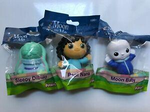 Moon and Me Bagged Figures Cake Toppers Pepi Nana Sleepy Dibillo & Moon Baby New