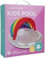 SunnyLife® Kids Pool Baby Float - Inflatable Swimming Boat with Canopy RRP £38