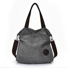 Fashion Women's Hobo Bag Canvas Handbag Shoulder Bags Purse Tote Large Sactchel