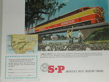 1951 Southern Pacific Lines ad, Sunset Limited Alco PA