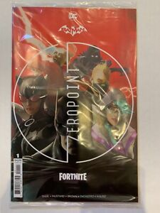 Batman Fortnite Zero Point 1  NM+ high grade   Sealed, code unused