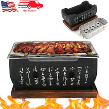 Barbecue Stove Carbon Furnace Japanese Korean Hibachi Barbecue Grill Food BBQ