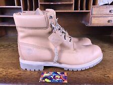 Timberland Mens 6 Inch Premium Waterproof Horween Boots Tan/Khaki NEW Size 14