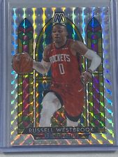 2019-20 Panini Mosaic Russell Westbrook Stained Glass Mosaic Prizm Ssp #2 Rocket
