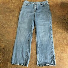 Levis 512 Jeans Size 14 Short Perfectly Slimming Denim Blue Boot Cut