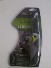 "Camillus 19090 Les Stroud Sk Desert Linerlock 4.25"" Folder Folding Knife New"