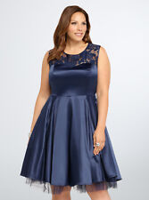 Torrid Illusion Ball Gown, Size 18, Brand New