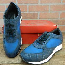 Donald Pliner Men's Monte Metallic Snake Print Leather Sneaker Size 8.5 M