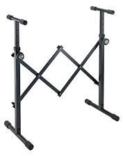 K&M 18826 Geräteständer Stativ Stahl höhenverstellbar Keyboard Mischpult Black