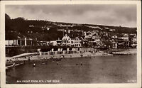 Lyme Regis Dorset England AK 1946 Coast Küste Strand Stadt City People Menschen