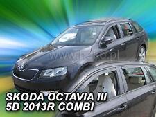 HEKO Windabweiser SKODA Octavia III 5türer ab BJ 2013 4teilig KOMBI  28340