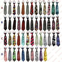 Elastic Neck Tie  - Smart Formal Weddings School Boys Kids Youth Necktie Ties