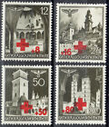 Generalgouverment 52/55 Red Cross, Complete Mint