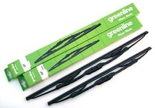 Greenline Premium Economy Front Windscreen wipers - Wiper Blade Set (GP24/24)