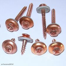 Spenglerschrauben 9067 KREUZ  4,5mm Edelstahl VA Cu Kupfer + 15mm DS 304cu67
