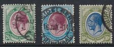 South Africa Stamp - KGV 1913 HIgh Values - SG 14 / 15 / 16 - Used