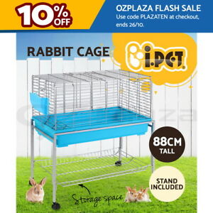 i.Pet Rabbit Cage Indoor Pet Guinea Pig Cages Outdoor Bunny Enclosure Carrier