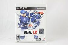 NHL 12 EA Sports Playstation 3 PS3 Video Game BRAND NEW SEALED