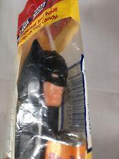 Batman 1985 Black Pez Candy Dispenser DC Comics Vintage Slovenia Hungary sealed!