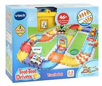 VTech Toot-Toot Drivers Track Set, First Kid's Car Set, Cars for Boys and Girls