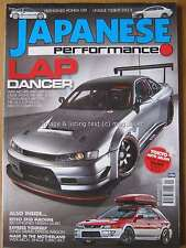 Japanese Performance March 2016 V8 Honda CRX Nissan 200SX Laurel RX7 Turbo Evo X