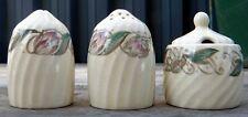 Retro Susie Cooper 'Endon' 3 piece Cruet  C.1932 - 1964  Pattern No. 1417