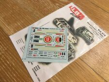 """Decal LLB Renault 5 Turbo TdC """"LUCKY STRIKE"""" Rally Corte Ingles 85 1/43 scale"""