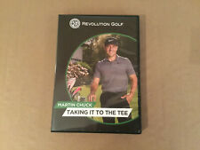 Golf Instruction Video 4 Dvds * Taking It To The Tee = Martin Chuck