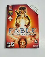 Fable The Lost Chapters PC CD-Rom 2005 Lionhead Studios Rated M Microsoft