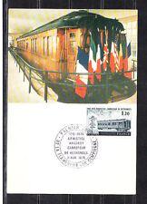 carte  1er jour  wagon carrefour de Rethondes Compiegne  la Flamengrie     1978