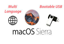 ✅MacOS X Sierra 10.12 - Bootable USB (Recovery,Upgrade,Fresh Install)