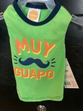 """New listing Nwt Simply Dog Shirt """" Muy Guapo """" Very Handsome Xs, L Free Ship So Cute!"""