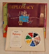 Vintage Diplomacy Game, Ariel, Games Research, Avalon Hill, Great Britain, 1971