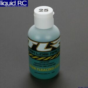 Team Losi Racing 74022 SILICONE SHOCK OIL 25WT 250CST 4OZ