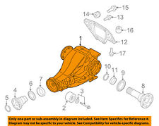 AUDI OEM 11-14 Q5 Rear Suspension-Differential Assembly 0BC500043M