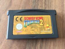 GBA:   DONKEY KONG COUNTRY 2    Game Boy Advance    PAL EUR