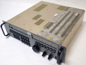 ROCKWELL-COLLINS HF-2050 HAM COMMUNICATIONS DSP HF RECEIVER & PRESELECTOR CONT.