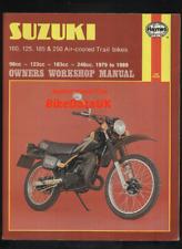 Suzuki TS ER 100 125 185 250 Air-cooled Trail Bikes (79-89) Haynes Manual BL28