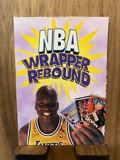 SHAQUILLE ONEAL SHAQ 1998 NBA WRAPPER REBOUND