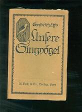 Nos chanteurs 1912 DR. Ernst schläff