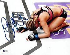 Paige VanZant Signed 8x10 Photo BAS COA UFC on Fox 15 2015 Win Picture Autograph