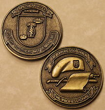 Rhode Island Special Forces Airborne Army Challenge Coin     Bronze