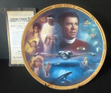 "Hamilton Star Trek 8"" Plate "" The Voyage Home "" Movies Collection"