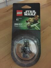 LEGO STAR WARS BOBA FETT BOUNTY HUNTER W/ BLASTER MINIFIGURE MAGNET 850643 NEW