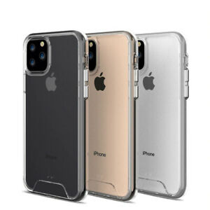 For iPhone 11 Pro Max XR XS MAX 8 7 Plus Case Clear Case Shockproof Hard Cover