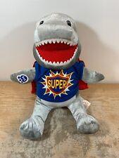 Build A Bear Toothy the Shark Plush Retired Shark Week