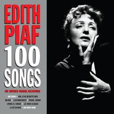 Edith Piaf 100 SONGS Best Of 100 Original Recordings ESSENTIAL New Sealed 4 CD