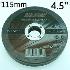 """10PC 115mm 4-1/2"""" CUTTING DISC WHEEL 4.5"""" Cordless Angle Grinder Stainless Steel"""