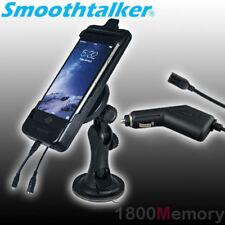 SmoothTalker Car Cradle Window Mount Cigar Antenna Coupler Apple iPhone 8 7 6 6S